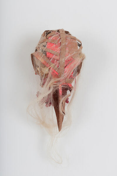Lavar Munroe, 'Small Solider War Mask: Mask of Death', 2018