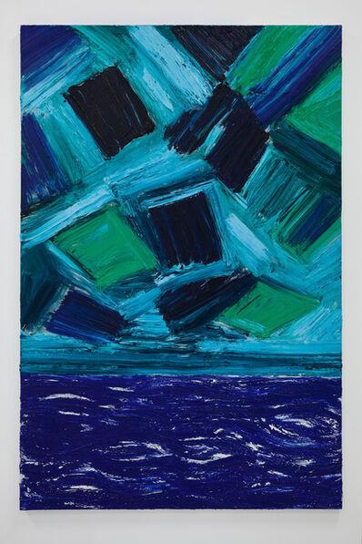 Mette Tommerup, 'Port / Portal (Green Sky) ', 2017
