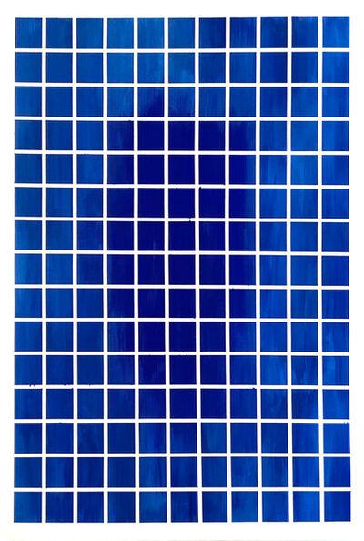 Nathan Slate Joseph, 'deep blue squares', 2019