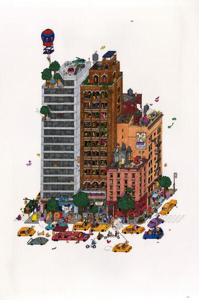 Guillaume Cornet, 'Rooftop Swingers', 2020