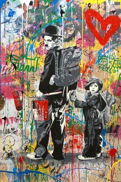 Mr. Brainwash, 'Chaplin & Kid', 2019