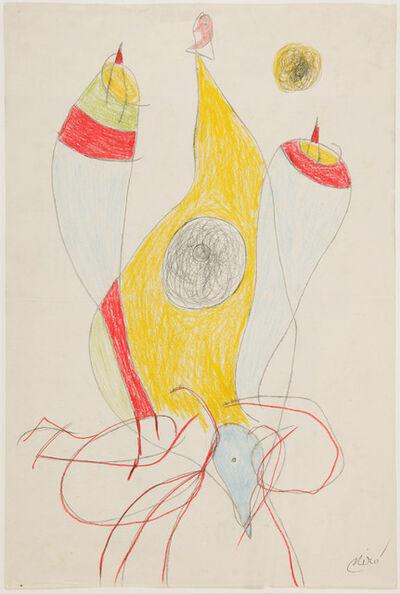 Joan Miró, 'Femme', 1977