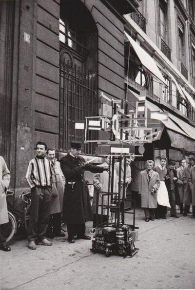 Nicolas Schoffer, 'CYSP 1 in the Streets of Paris (opposite MAXIM'S restaurant)', 1956