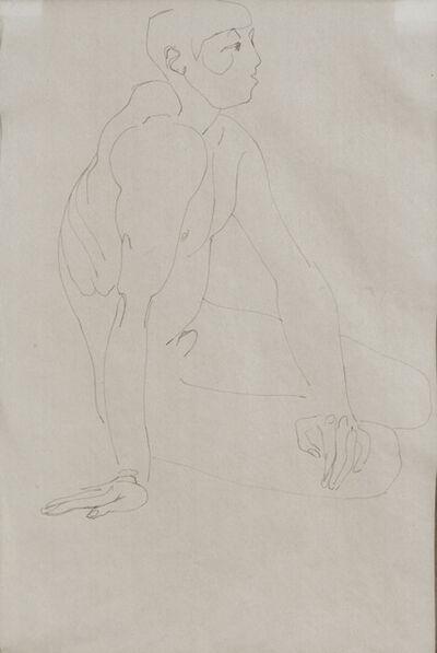 Henri Gaudier-Brzeska, 'Seated Nude', 1912-1913