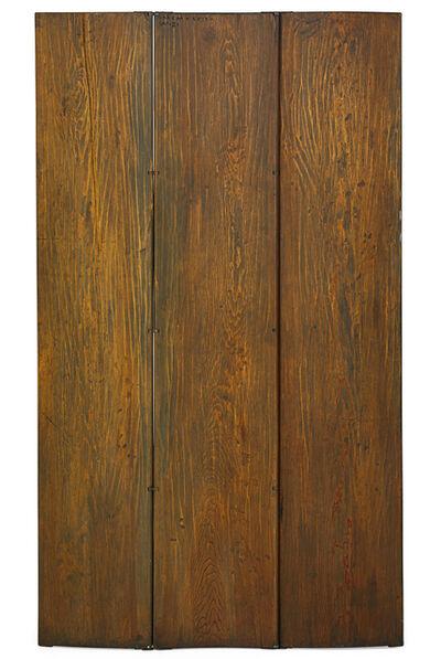 Wharton Esherick, 'Three-panel room divider, Paoli, PA', 1939