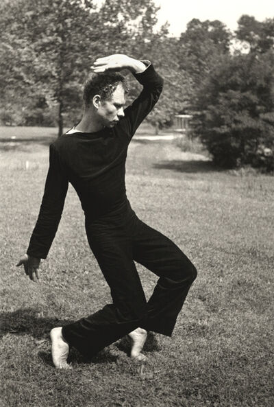 Hazel Larsen Archer, 'Merce Cunningham Dancing', ca. 1952