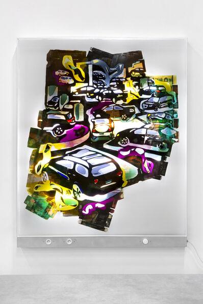 Neïl Beloufa, 'Big Cars C', 2019