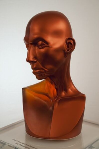 Judy Chicago, 'Grand Toby Head with Copper Eye', 2010