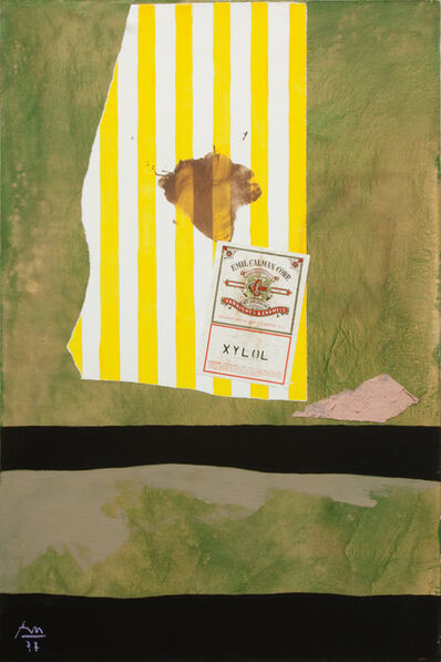 Robert Motherwell, 'Xylol', 1977