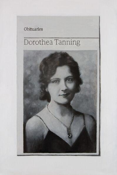 Hugh Mendes, 'Obituary: Dorothea Tanning', 2012