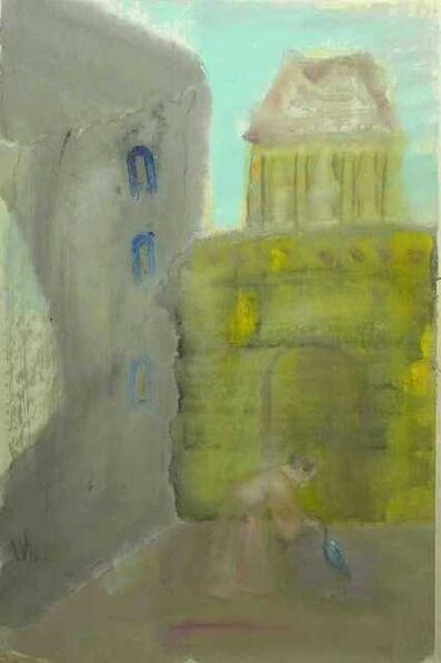 Leng Hong 冷宏, 'Woman with a crane 獨鶴歸何晚', 2019