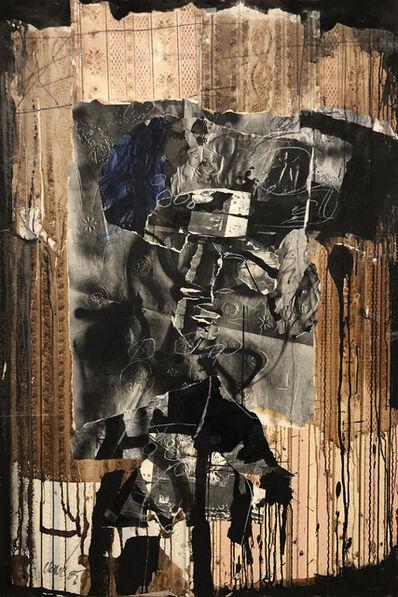 Antoni Clavé, 'Femme et papier peint', 1985