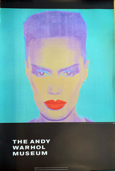Andy Warhol, 'Grace Jones, The Andy Warhol Museum', 1986