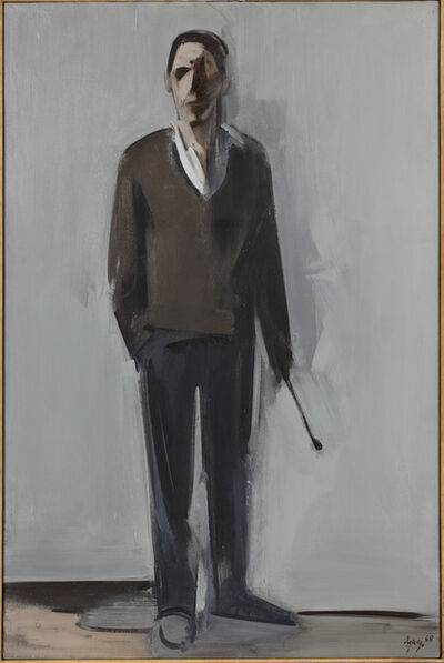 fermin aguayo, 'The Painter', 1968
