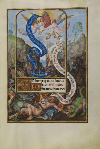 Master of James IV of Scotland, 'Lazarus's Soul Carried to Abraham', 1510-1520