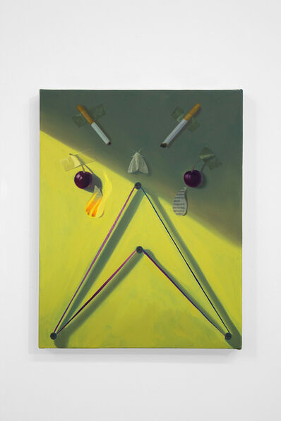 Paul Rouphail, 'FACE IN A GREEN ROOM', 2019