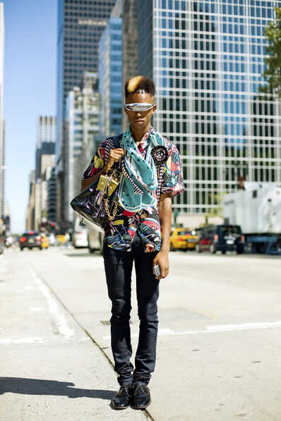 The Sartorialist, '6th Ave, New York'