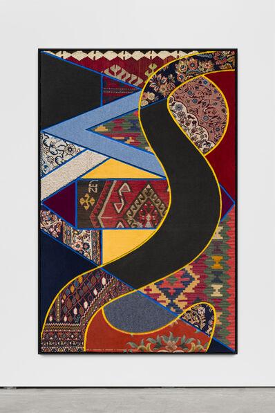 "Nevin Aladağ, '""Social Fabric, river""', 2018"