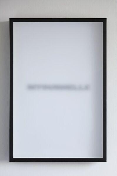 Julien Discrit, 'Le Masque et le Miroir', 2011