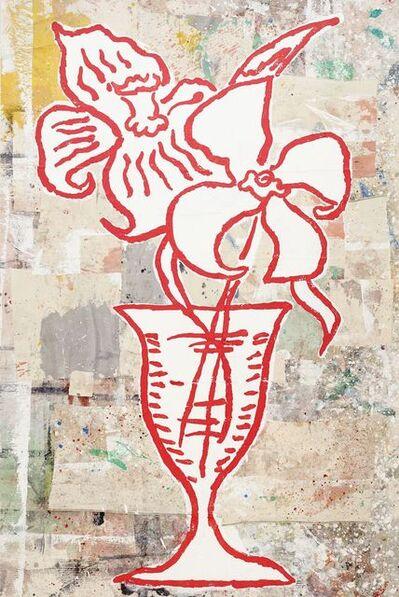 Donald Baechler, 'Flowers #2', 1993