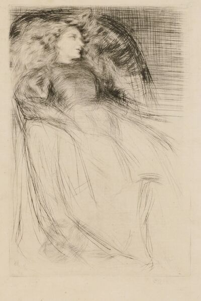"James Abbott McNeill Whistler, '""Weary""', 1863"