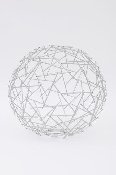 R. Buckminster Fuller, 'Geodesic Tensegrity Sphere, 120 Strut, 4 Frequency Dome, Edition 1 of 1', 1980