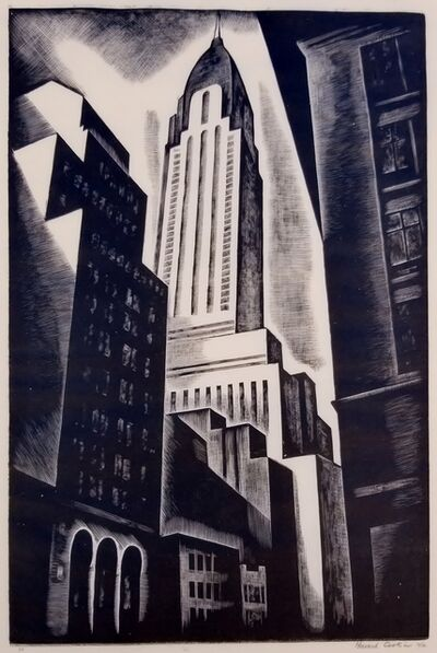 Howard Cook, 'Chrysler Building', 1930