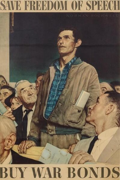 Norman Rockwell, 'Four Freedoms (complete set of four)', 1943