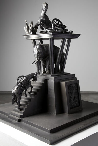 Michael Sandle, 'Maquette for Animals in War Memorial', 1999