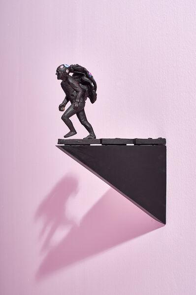 Clive van den Berg, 'Man flees the spectacle', 2016