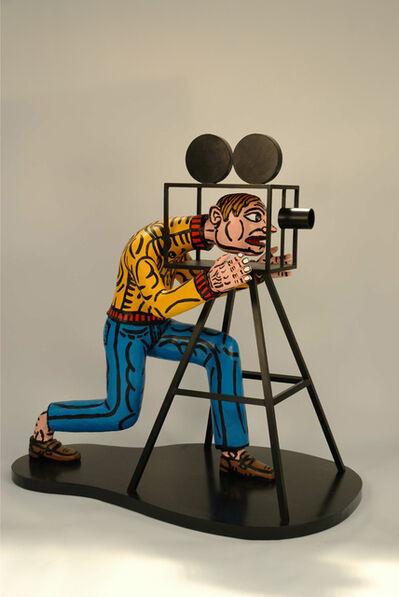 Robert Combas, 'Le realisateur la tete dans le machine', 2007