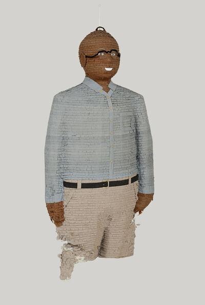 Dave McKenzie, 'Self-Portrait Piñata', 2002