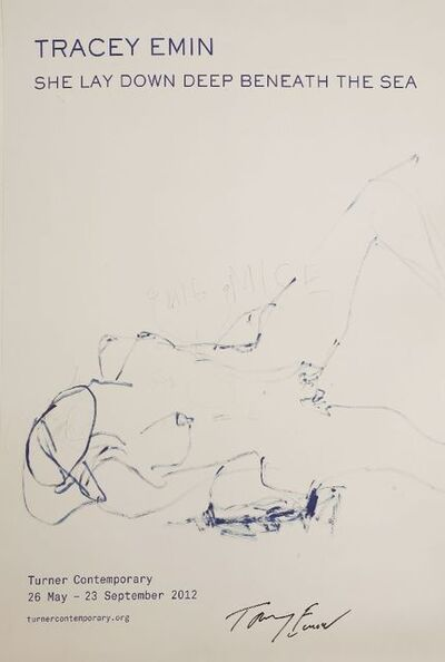 Tracey Emin, 'TURNER CONTEMPORARY POSTER', 2012