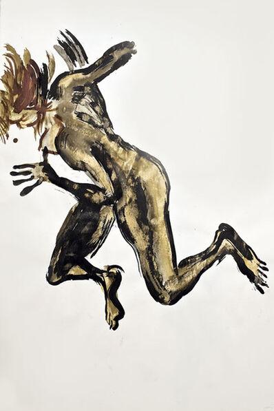 Mary Frank, 'Vaulting Woman II (Kate Gamble)', 1986