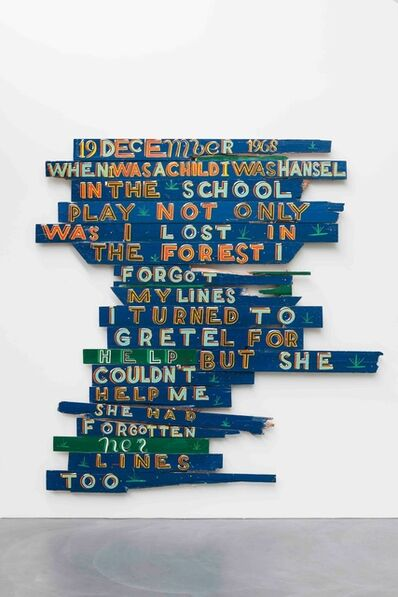 Bob and Roberta Smith, 'Lost in the forest', 2008