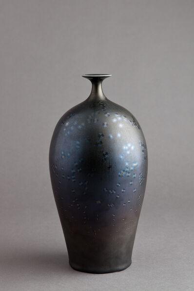 Hideaki Miyamura, 'Vase, starry night glaze'