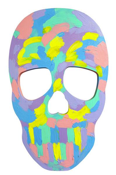 Bradley Theodore, 'Skull Face IV', 2017