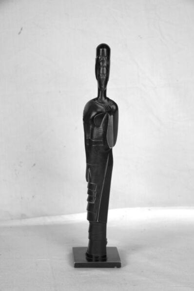 Gustave Miklos, 'Femme à la coiffe oblique', 1924