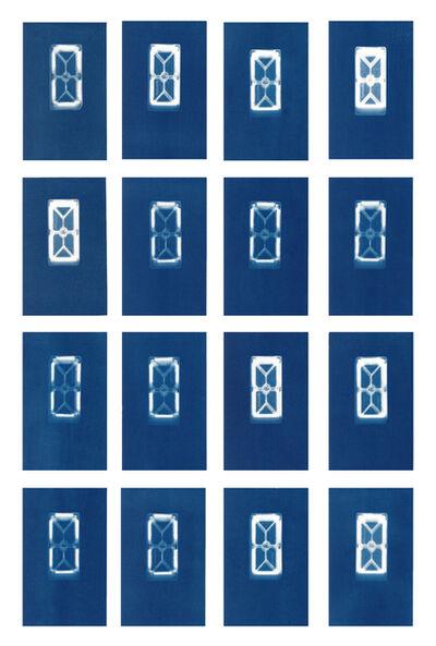 Sarah Irvin, 'Cyanotype Archive: Small Rectangular Playmags', 2019
