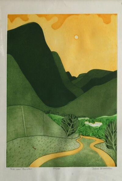 John Brunsdon, 'Windermere and Pass near Coniston', 1973