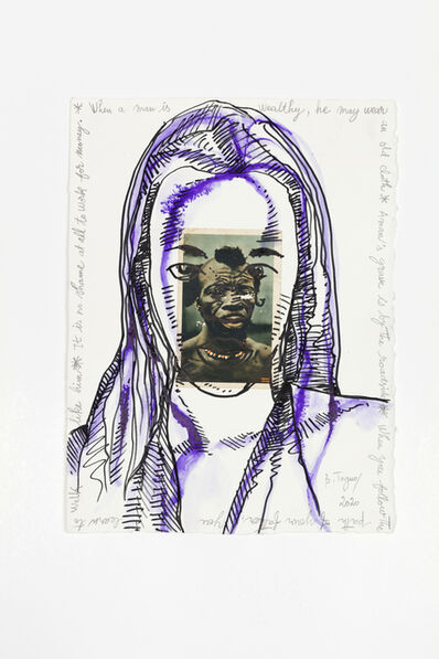 Barthélémy Toguo, 'Bilongue (When a man is wealthy, he may wear an old cloth)', 2020
