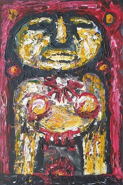"Rabin Mondal, 'Deity, Acrylic on Acrylic Sheet by Modern Artist ""In Stock""', 2014"