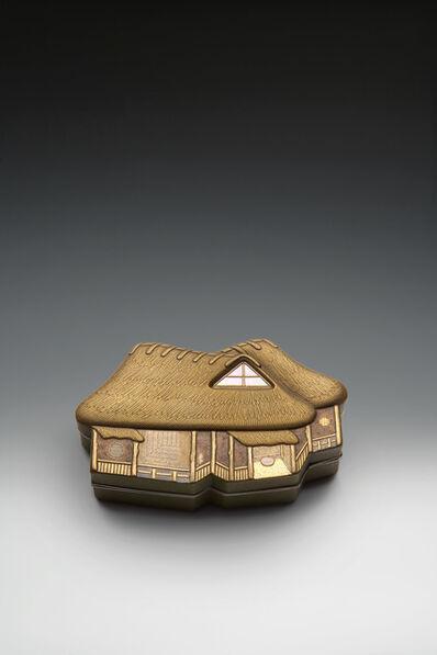 Yamazaki Mushū, 'Farmhouse Incense Box (T-2182)', Heisei era (1989 , 2019), 2009
