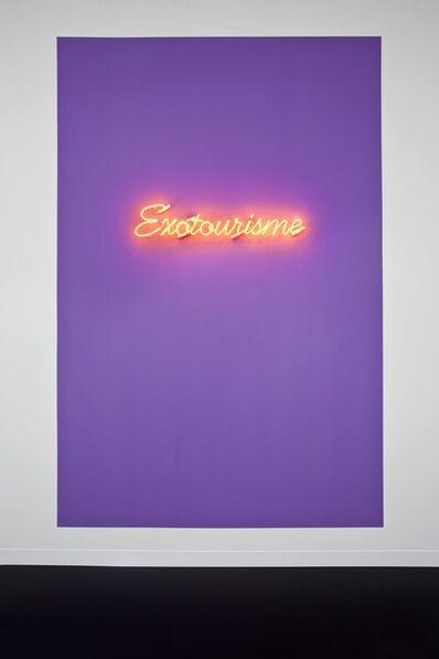 Dominique Gonzalez-Foerster, 'Exotourisme', 2002