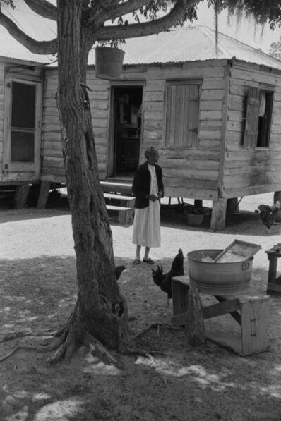 Constantine Manos, 'Untitled, Daufuskie Island, South Carolina (woman in yard)', 1952