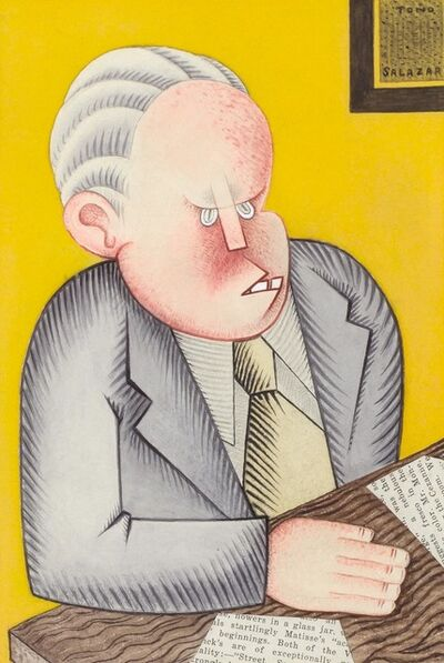 Miguel Covarrubias, 'Untitled (Portrait of a Man)', circa 1925