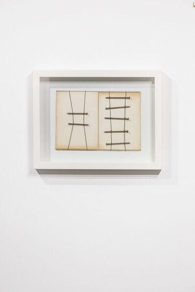 Verónica Vázquez, 'Hilos y clavos sobre papel', 2016