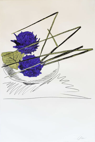 Andy Warhol, 'Flowers (Hand-Colored) II.116', 1974