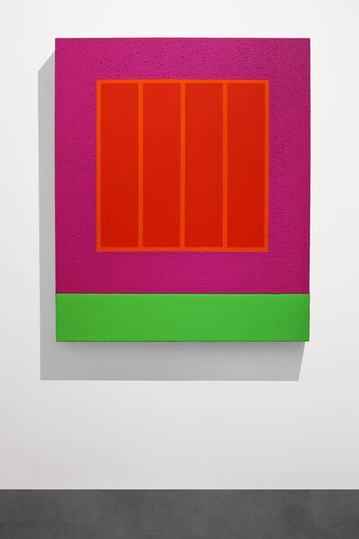 Peter Halley, 'Magenta Prison', 2001