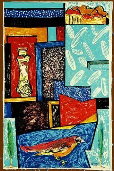 Italo Scanga, 'Red Bunting', 1989
